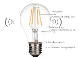 light sensor light bulbs 2017new arrival light sensor led filament bulb selectionled com