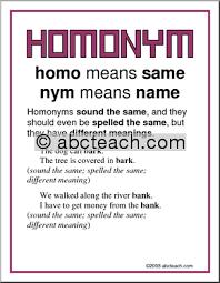 3rd grade free homophone worksheets for 3rd grade printable
