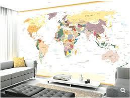 world map wallpaper kids room custom kids world map vintage