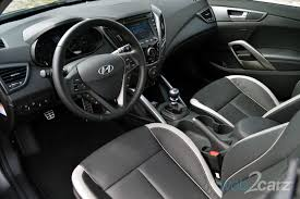 Veloster Hyundai Interior 2014 Hyundai Veloster Turbo Review Web2carz