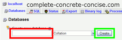 membuat database admin dengan xp creating a mysql database using ampps complete concrete concise