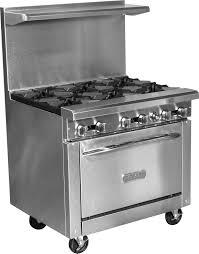 royal range 6 burner range w 1 26 5 u2033 oven u2013 delmax restaurant supply