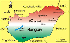 Map Of Budapest Coldwarevents The Hungarian Revolution