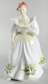 Flower Of The Month Royal Doulton Flower Of The Month At Replacements Ltd