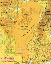 black rock desert map black rock desert wilderness nevada national wilderness areas