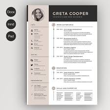 creative resume templates modern resume template cv template by