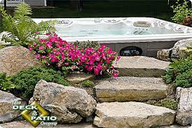 Fake Rocks For Landscaping by 5 Ways To Improve Your Spa Or Tub Appeal Hottubworks Spa