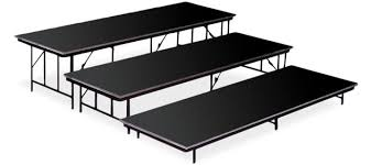 stands and risers from mitchell furniture systems mitchell