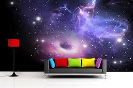 galaxy wall mural 20 kid s space themed bedroom design ideas wall murals walls