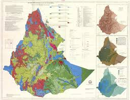 Ethiopia Map Africa by Hydrogeological Map Of Ethiopia Esdac European Commission