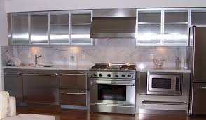metal kitchen cabinets with wood doors kitchen