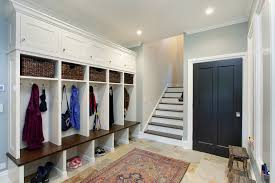 glamorous cubbies in entry contemporary with garage mudroom next