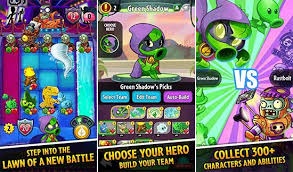 plant vs apk mod plants vs zombies heroes 1 24 6 apk mod data for android