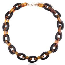colored chain link necklace images Buy fashion woman jewelry chain choker necklace jpg