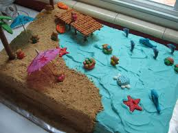 summer beach cake beach cakes beach and cake