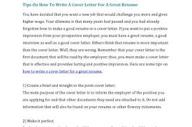 cover letter address a cover letter below you will find example