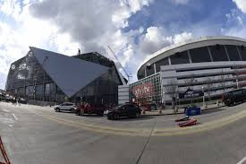 mercedes dome delays in construction of mercedes stadium dome