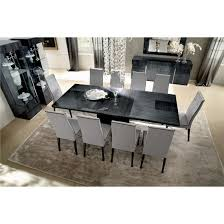 Contemporary Galleries Montecarlo Expandable Table - Monte carlo dining room set