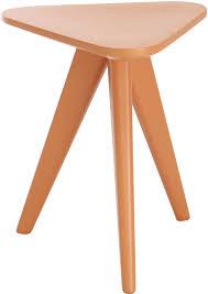 Orange Side Table Modloft Karla Stool And Side Table 24092443 Official Store