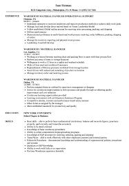 resume templates word accountant trailers plus peterborough warehouse material handler resume sles velvet jobs