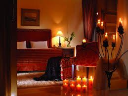 romantic lighting for bedroom romantic bedroom candles make special night scented rose petals on