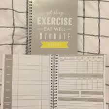 found this nifty food and exercise log book for 3 i even