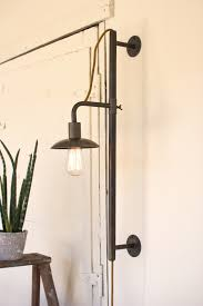 Wall Sconces With Plug In Cords Best Plug In Wall Sconces Added Plug In Wall Sconces U2013 Modern