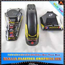 3m sticker u0026 plastics fender klx110 110 125 140 150 160 200cc dirt