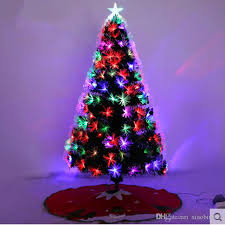 fiber optic christmas decorations 1 5 m 150cm fiber optic christmas tree ornament christmas tree