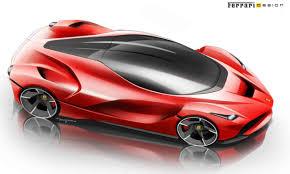 ferrari supercar concept ferrari laferrari concept development sketch 25 motocrit