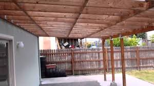 impressive design how to build a wood patio cover entracing how to
