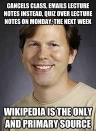Quiz Meme - lazy college professor memes quickmeme