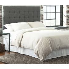 Solid Wood King Headboard by Fashion Bed Group B72730 Strasbourg King Headboard In Charcoal