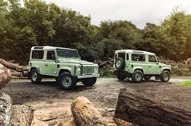 land rover celebrates the rugged defender with three special editions