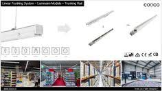 most efficient lighting system led linear light rotatable from 60 to 60 degrees easy