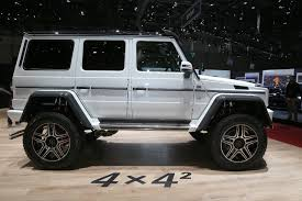 4x4 mercedes mercedes g500 4x4 squared enters production costs 256 000