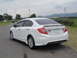 honda civic inside car insurance info