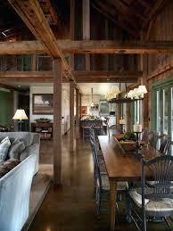 pole barn home interiors barn home interior design house decor style with prepare