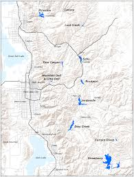 Draper Utah Map by Map Wasatch Back Reservoirs Wasatch Water Review