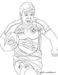 brian driscoll rugby player coloring pages hellokids com