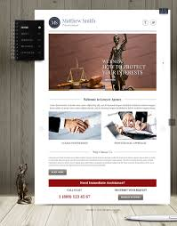 matthew smith private lawyer bootstrap html template on behance