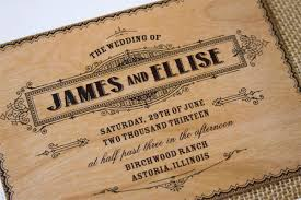 wooden wedding invitations dreaded wooden wedding invitations theruntime