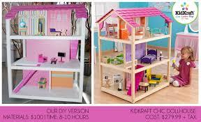 pretty in prints prettyinprints com diy kidkraft chic dollhouse