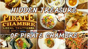 chambre com menu treasure of pirate chambre