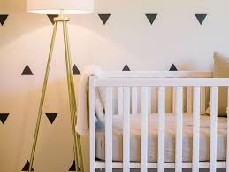 Bedroom Design Tips On A Budget Lighting White Floor Lamp Nursery 2017 On A Budget Photo With