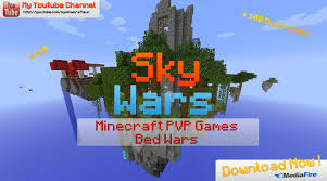 Bed Wars 1 5 2 Pvp Multi Skywars Bed Wars By Myminecrafteur Maps