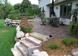 Patio Deck Cost by Deck Vs Patio Which Is Right For Me Axel Landscape