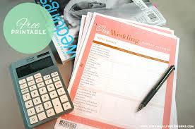 free printable wedding budget planner blog botanical paperworks