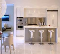 Luxury Modern Kitchen Designs Modern White Nuance Of The Modern Apartment Kitchen Design Can Be