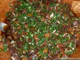 cuisine tahitienne recettes poisson cru à la grecque version tahitienne projets à essayer